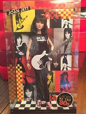 Joan Jett Ladies of the 80s Pink Label Barbie Doll 2009 Brand New