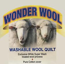 Australian Made Wool Duvet | Doona | Quilt | Cotton Cover | Wonder Wool | Single