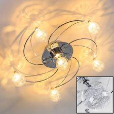 Design Deckenlampe Chrom Wohn Zimmer Leuchte Flur Strahler Küchen Decken Lampe