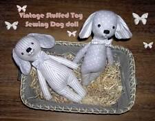 Schnittmuster,Vintage Stofftier, Nähe eine Hunde oder Hasen Puppe ✿ PDF-Datei