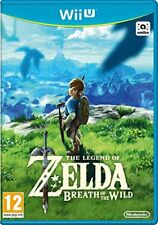 Zelda Breath of the Wild Nintendo Wii u fisico precintado