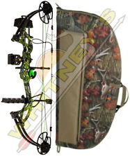 """Fred Bear Cruzer G2 Bow Moonshine Toxic RH Package 5-70# 12-30"""" With Case"""