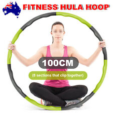 100CM Minch Weighted Hula Hoop Perfect for Dancing Exercise Hot Fitness Workout