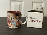 "Walt Disney's Classic ""Pinocchio"" Mug With Box, Made In Japan (New)"