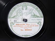 78rpm MARIO GILION sings GUGLIELMO TELL (Rossini) - FONOTIPIA MILAN 1906