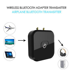 Bluetooth Audio Transmitter Wireless Flug Adapter Konverter für Flugzeug
