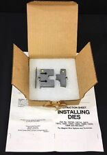 Thomas Amp Betts 13684 Die For 22l009 Dragon Tooth Crimp Connectors Tnb