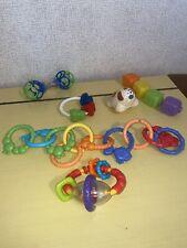 Baby Toys Rattles Teethers Lot Developmental Play Nuby Links