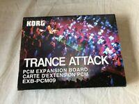 Korg EXB-PCM09 Trance Attack PCM Expansion Board w/ box Free shipping! Triton