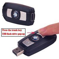 Car Key Model U Disk Pen USB 2.0 Flash Drive 64GB 32GB 16GB 8GB 4GB Memory Stick