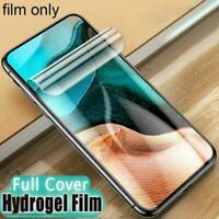 For Xiaomi POCO F2 Pro, Soft Hydrogel 3D Curved Cover Screen Protector+Lens F7X6