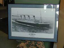 RMS Titanic original art print...very nice