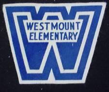Vintage Patch WESTMOUNT ELEMENTARY School