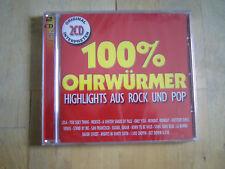 album 2 cd 100% ohrwurmer highlights aus rock and pop