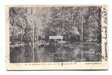 Florence, South Carolina - Muldrow's Mill above the Dam - 1907 used USA postcard