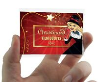 CHRISTMAS FILM & MOVIE QUOTES CARD GAME Xmas Party Family Work Fun Secret Santa