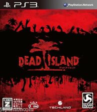 Used PS3 Dead Island PLAYSTATION 3 JAPAN JAPANESE IMPORT