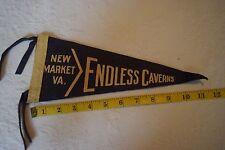 "Vintage Travel Pennant - Endless Caverns New Market Virginia - 12"""