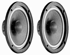 """New (2) New 6.5"""" Full Range Driver Speakers.8ohm.Home Audio Replacement Pair."""