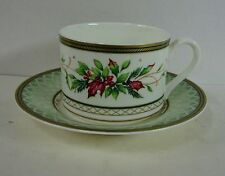Fitz & Floyd WINTER HOLIDAY Cup & Saucer Set BEST!  Multiple Available