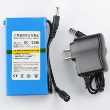 Super Power DC 12V Portable 6800mAh Li-ion Rechargeable Battery Pack Holder