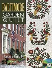 USED (VG) Baltimore Garden Quilt [With CDROM] by Barbara M. Burnham