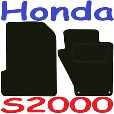 Tailored Deluxe Quality Car Mats Honda S2000 1999-2010 ** Black **