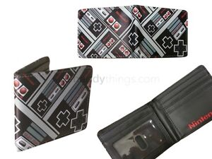 Boys Nintendo Game Console Novelty Card Holder School Wallet Gift Student