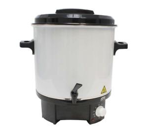 AFK Einkochtopf 27 Liter 1800W Glühweintopf Glühweinkocher Einkochautomat 27 L