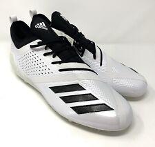 Adidas Adizero 5-Star 7.0 Low Football Cleats White Black Oreo Size 17 Da9547