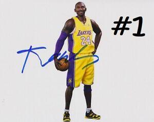 Kobe Bryant 8x10 Signed Autograph Reprint {Choose 1 of 3} Mint