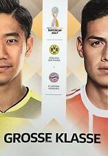 Programmheft - Supercup 2017 - BVB 09 / FC Bayern - Kagawa & James Rodriguez