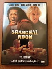 ☀️ Shanghai Noon DVD 2000 Jackie Chan Owen Wilson Lucy L French Audio WS MINT R1