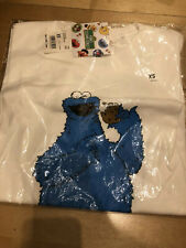 Kaws X Uniqlo Graphic White T-Shirts Sesame Street Size XS from Japan
