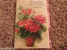 Vintage Mothers Day Card Beautiful Flowers American Greetings Mom