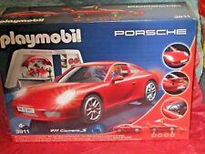 Playmobil #3911 Porsche 911 Carrera S with Lights & Workshop!  NEW!