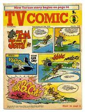 TV Comic 1126 (July 14 1973) Pink Panther, Tarzan. Bugs Bunny, Laurel & Hardy...
