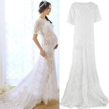 White Sexy Maternity Dresses