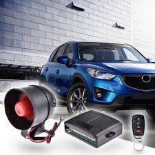 Car Alarm System Remote Door Start Starter Keyless Entry Lock Locking 1 way Kit