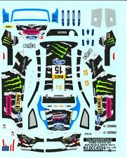 Colorado Decals 1/43 FORD FIESTA RS WRC Ken Block #15 Spain 2014