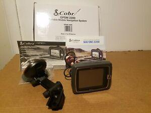 Cobra GPSM 2200 5-Inch  Portable GPS Navigator