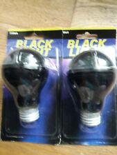 75Watt // 2 Black Light Bulbs //