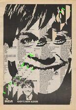 Iggy Pop LP advert ZigZag Clipping 1977
