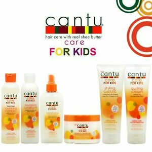 Cantu Care For Kids Gentle.. For Textured Hair with Shea Butter,Coconut & Honey