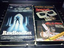 PSYCHOMANIA ALICE SWEET ALICE Raw Head Rex 1980S HORROR B-MOVIES VHS TAPES RARE!