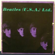 THE BEATLES - (U.S.A.) Ltd. - TOUR PROGRAM - FAN CLUB EXTRAS - 1964