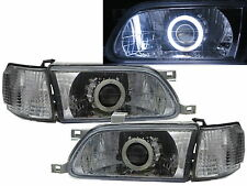 Tercel L50 1995-1999 CCFL Projector Headligh Headlamp CHROME for TOYOTA RHD