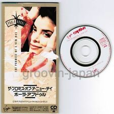"""PAULA ABDUL The Promise Of A New Day JAPAN 3""""CD VJDP-10172 UNSNAPPED Free S&H/PP"""