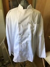 Xl Mens White Chef Jacket Coat - Usa Seller Chefs Chef's