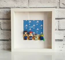 Toy Story Mini Figures Frame (Buzz Lightyear • Woody • Jessie • Alien • Lego)